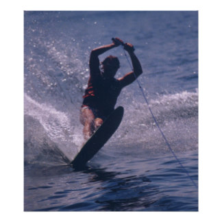 water_ski_in_blue_poster